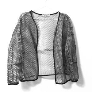 Jackets & Blazers - NWOT Two tone mesh Jacket